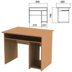 Стол компьютерный «Эко», 900×680×740 мм, бук бавария