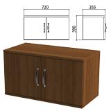 Шкаф-антресоль «Эко», 720×355×390 мм, орех