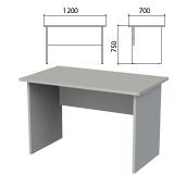 Стол письменный «Этюд», 1200×700×750 мм, серый