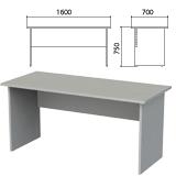 Стол письменный «Этюд», 1600×700×750 мм, серый