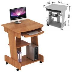 Стол компьютерный СК-01.3, 644×532×805 мм, ЛДСП, цвет орех