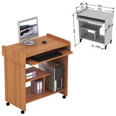 Стол компьютерный СК-03.3, 782×480×855 мм, ЛДСП, цвет орех