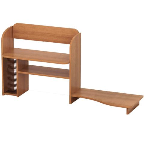 Надстройка стола компьютерного СК-14.3, 546х230х646 мм, ЛДСП, цвет орех