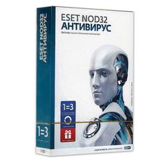 Антивирус ESET NOD32 «+Bonus», 3 ПК, 1 год или продление на 20 месяцев