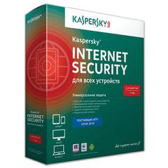 Антивирус KASPERSKY «Internet Security», лицензия на 2 устройства, 1 год, бокс