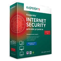 Антивирус KASPERSKY «Internet Security», лицензия на 3 устройства, 1 год, бокс