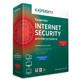 ��������� KASPERSKY «Internet Security», �������� �� 3 ����������, 1 ���, ����