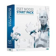 Антивирус ESET NOD32 «Start pack», базовый комплект, 1 ПК на 1 год, бокс