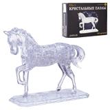 Игрушка развивающая 3D Crystal Puzzle «Лошадь», XL, 100 элементов