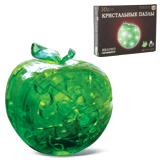 Игрушка развивающая 3D Crystal Puzzle «Яблоко», светильник, L, 45 элементов
