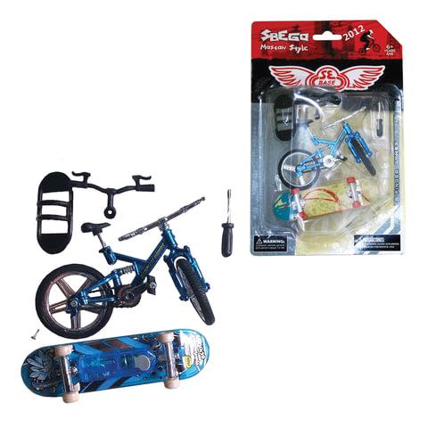 """Игрушка развивающая """"Finger sport"""", велосипед, скейт"""