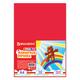 Цветная пористая резина для творчества (пенка в листах), А4, 210×297 мм, BRAUBERG (БРАУБЕРГ), 10 листов, 10 цветов, радужная
