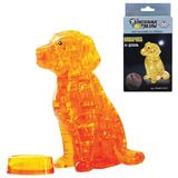Игрушка развивающая 3D Crystal Puzzle «Собака», L, 41 элемент