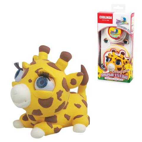 Игрушка развивающая «Чудо-пластилин Скульптор», жирафчик, 1×31 г, 1×49 г, фурнитура в комплекте