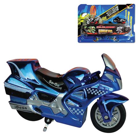 Игрушка развивающая «Крутой байк», инерционная, 4 трамплина, 2 мотоцикла