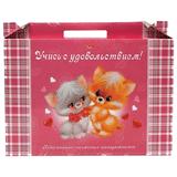 Набор для первоклассника в подарочной упаковке HATBER «Пушистики»