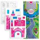 Набор для творчества ERICH KRAUSE «Artberry»: 10 фломастеров+6 карт с фигурами для сборки+игровое поле