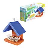 Набор для детей деревянный «Кормушка для птиц №2», 20×20×14 см, цветной, «Десятое королевство»