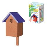 """Набор для детей деревянный «Кормушка для птиц »Скворечник"""", 33×18×17 см, цветной, «Десятое королевство»"""