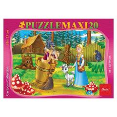 Пазл MAXI, 20 элементов, А5, «Аленушка и братец Иванушка», 165×230 мм, 20ПЗ5 10715