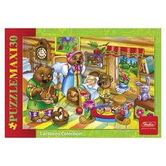 Пазл MAXI, 30 элементов, А4, «Маша и медведи», 210×290 мм, 30ПЗ4 10704