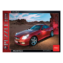 Пазл MINI, 108 элементов, А4, «Red Car», 210×300 мм, 108ПЗ4 09214