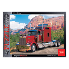 Пазл MINI, 108 элементов, А4, «Super Truck», 210×300 мм, 108ПЗ4 09215
