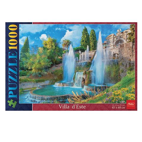 "Пазл STANDARD, 1000 элементов, А2, ""Великолепные фонтаны"", 450х680 мм, 1000ПЗ2 11367"