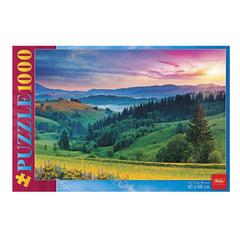 Пазл STANDARD, 1000 элементов, А2, «Роскошный пейзаж», 450×680 мм, 1000ПЗ2 10365