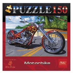 Пазл STANDARD, 150 элементов, А4, «Motor Bike», 220×330 мм, 150ПЗ4 03344