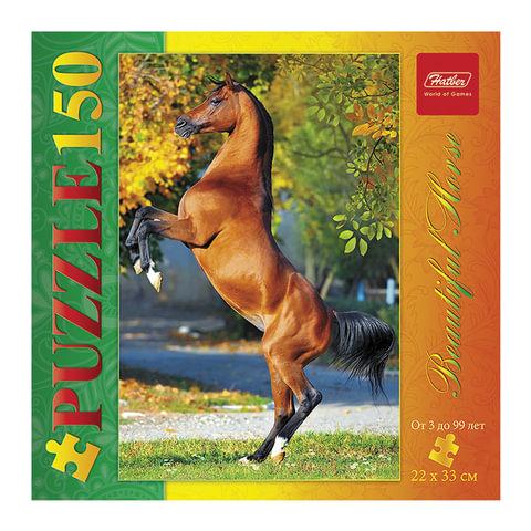 """Пазл STANDARD, 150 элементов, А4, """"Красивая лошадь"""", 220х330 мм, 150ПЗ4 11013"""