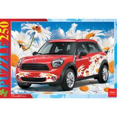 Пазл STANDARD, 250 элементов, А3, «Авто в цветах», 280×400 мм, 250ПЗ3 12583