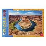 Пазл STANDARD, 500 элементов, А2, «Гранд каньон», 340×460 мм, 500ПЗ2 10097