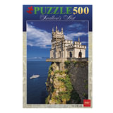 Пазл STANDARD, 500 элементов, А2, «Романтический замок», 340×460 мм, 500ПЗ2 11540