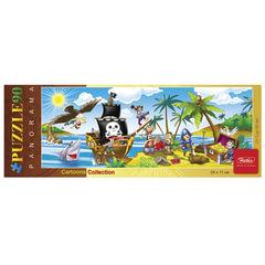 Пазл-панорама, 90 элементов, А4, «Остров сокровищ», 290×110 мм, 90ПЗ4 10429