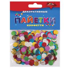 Материалы для творчества АППЛИКА «Декоративные пайетки», конфетти