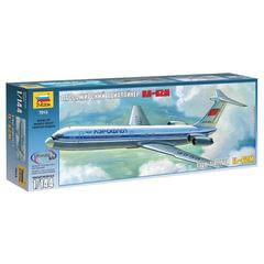 Модель для склеивания САМОЛЕТ, «Авиалайнер пассажирский советский Ил-62М», 1:144, ЗВЕЗДА, 7013