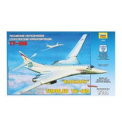 Модель для склеивания САМОЛЕТ, «Бомбардировщик сверхзвуковой стратегический Ту-160», 1:144, ЗВЕЗДА, 7002