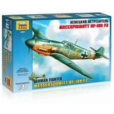 """Модель для склеивания САМОЛЕТ, «Истребитель немецкий BF-109 F2 »Мессершмитт"""", масштаб 1:48, ЗВЕЗДА, 4802"""