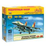 Модель для склеивания НАБОР САМОЛЕТ, «Истребитель российский Су-35», масштаб 1:72, ЗВЕЗДА, 7240П