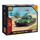 Модель для сборки ТАНК «Основной советский Т-72Б», масштаб 1:100, ЗВЕЗДА, 7400