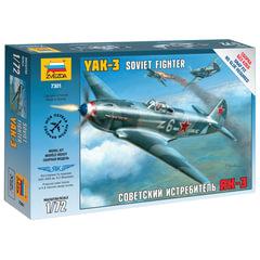 Модель для сборки САМОЛЕТ «Истребитель советский Як-3», масштаб 1:72, ЗВЕЗДА, 7301