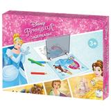 Экран для копирования рисунков «Принцесса», 23*16 см, 2 рисунка, по лицензии Disney, «Десятое королевство»