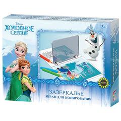 Экран для копирования рисунков «Холодное сердце», 23×16 см, 2 рисунка, по лицензии Disney, «Десятое королевство»