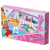 Игра-ходилка настольная детская «Бал принцесс», игровое поле, фишки, кубик, Disney, «Десятое королевство»