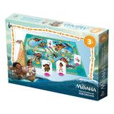 Игра-ходилка настольная детская «Моана. Зов океана», игровое поле, фишки, кубик, Disney, «Десятое королевство»