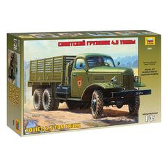 Модель для склеивания АВТО «Автомобиль грузовой советский ЗИС-151», масштаб 1:35, ЗВЕЗДА, 3541