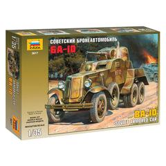 Модель для склеивания АВТО «Бронеавтомобиль советский БА-10», масштаб 1:35, ЗВЕЗДА, 3617