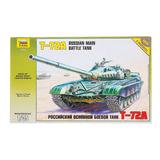 Модель для склеивания ТАНК «Основной российский Т-72А», масштаб 1:35, ЗВЕЗДА, 3552