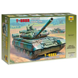 Модель для склеивания ТАНК «Основной российский Т-80БВ», масштаб 1:35, ЗВЕЗДА, 3592